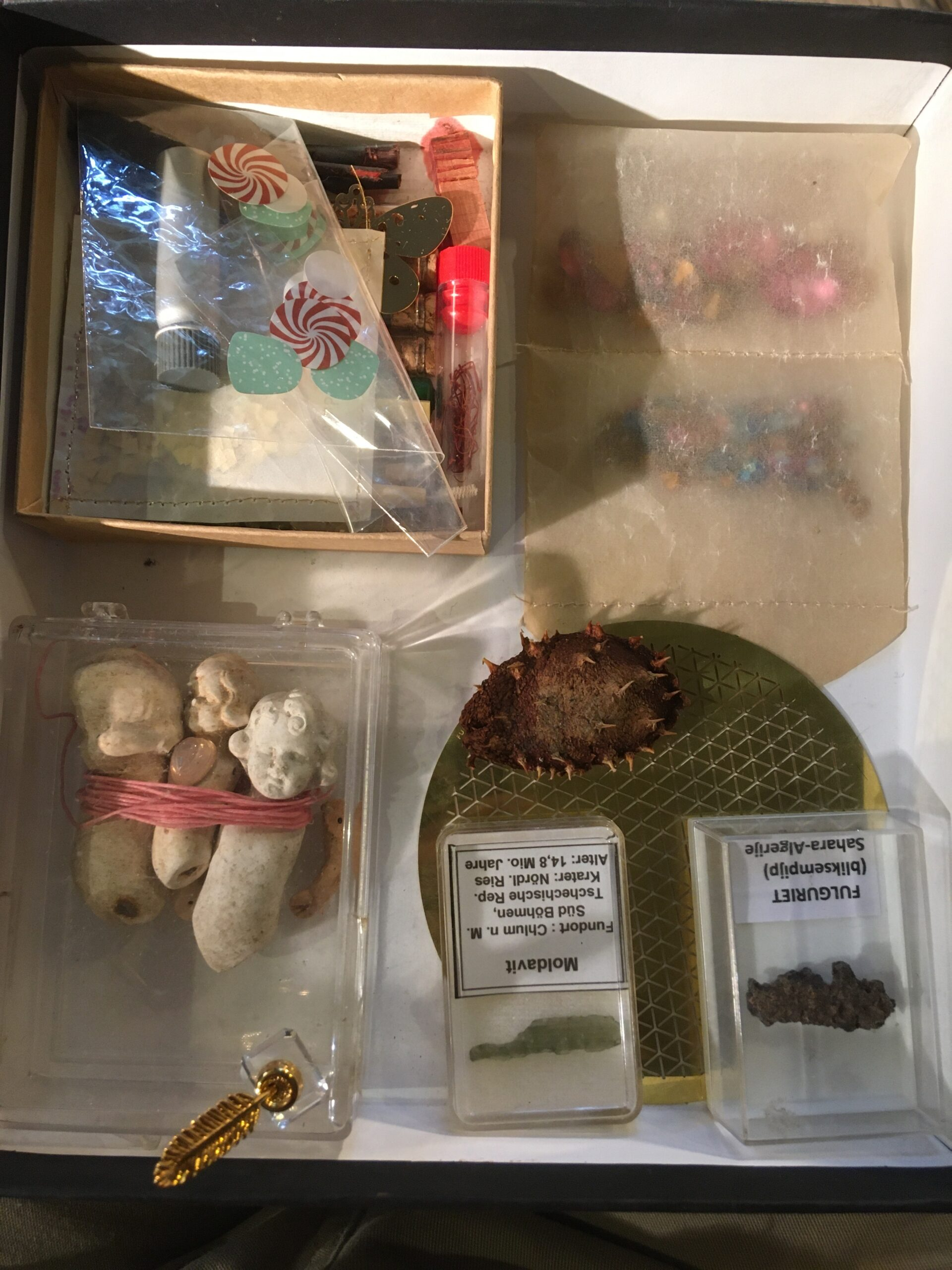 Eclectic collection of artifacts & 'elementals'